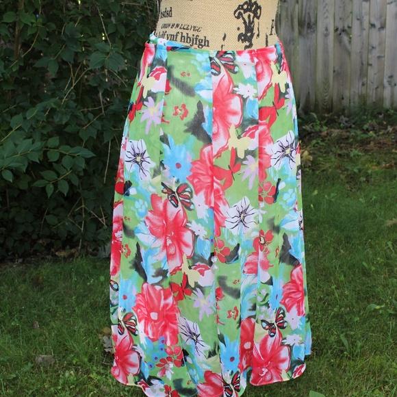 Christopher & Banks Dresses & Skirts - Cute vibrant Christopher & Banks skirt